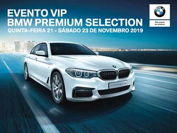 BMW | Santogal BMW | Evento VIP | BPS | Carros Usados | Premium Selection | Alfragide